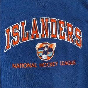 VINTAGE NY Islanders Lighthouse Logo Sweatshirt!!